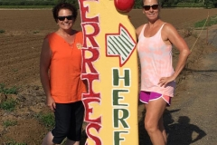 Look for direction signs to our fruit stands